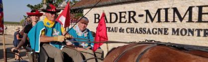 BADER-MIMEUR accueille la RANDONNEE EQUESTRE D'ARTAGNAN